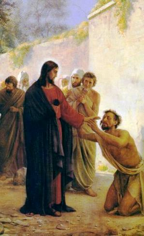 Jesus Heals Leper - Bible Study on Mark 1:40-45 | Bible Study Lessons and  Topics